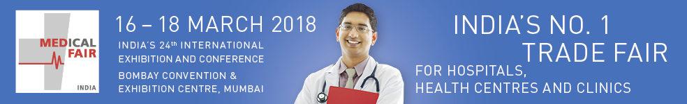 2018/3/16-2018/3/18<br>Medical Fair India 2018