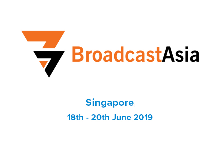 2019/6/6<br>IKEGAMI TO EXHIBIT LATEST 4K, IP AND HDR CAMERAS AT BROADCAST ASIA 2019