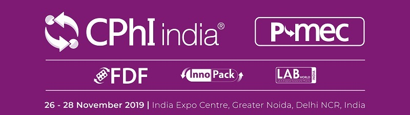 2019/11/26-28<br>P-MEC India 2019  (International trade fair for pharmaceuticals, medical devices and accessories)